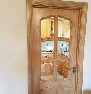 ساخت انواع درب چوبی