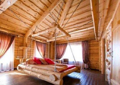 تخت خواب , خانه های چوبی ، طرح های تزیینی، طراحی داخلی، طرح های چوبی