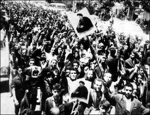 تصویری از تظاهرات 15 خرداد