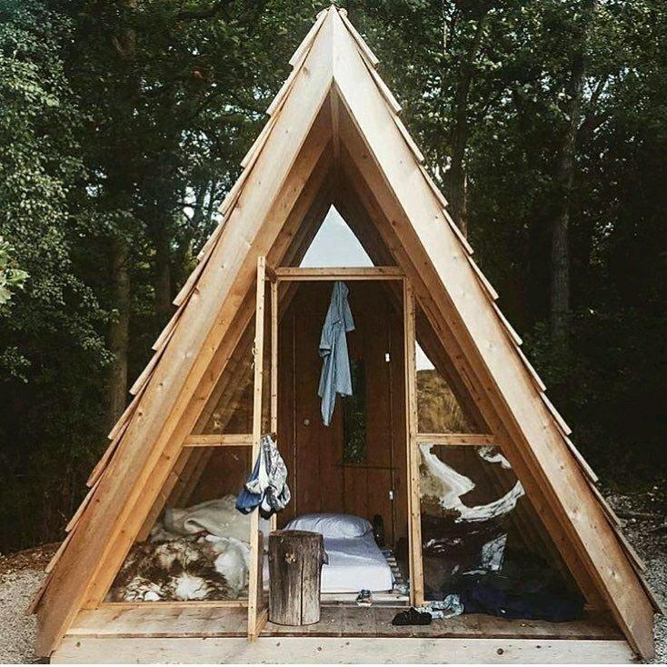 A Frame  کلبه چوبی