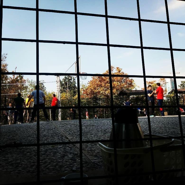 زمین فوتبال پارک جنگلی طالقانی واقع در تهران بزرگراه مدرس