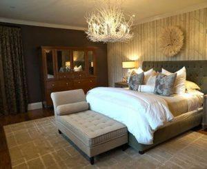 لوستر مناسب اتاقهای خواب و پذیرایی