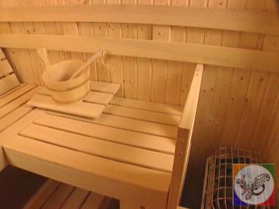 custom kit for sauna is drawn from plans