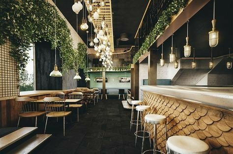 کفپوش ایوان کافه رستوران