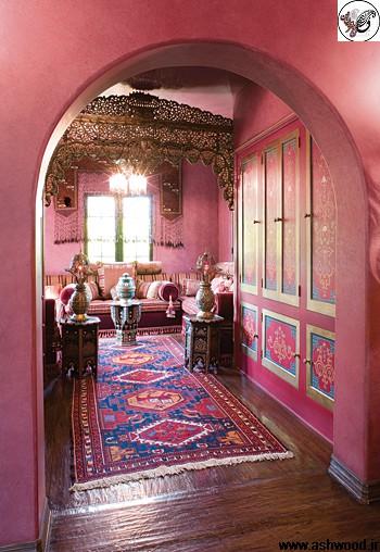 اتاق خواب سبک مراکشی