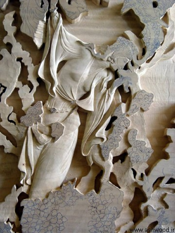 تابلو منبت , اثر استاد حسینی