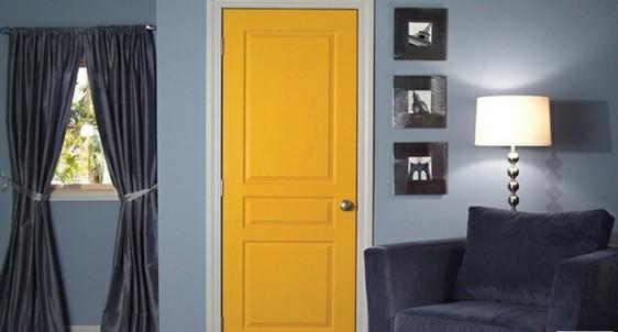 همه چیز درمورد درب های چوبی -  درب های چوبی سه پنلی در دکوراسیون منزل