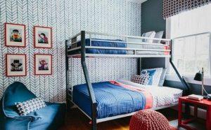طراحی اتاق خواب مدرن وجذاب برای کودکان
