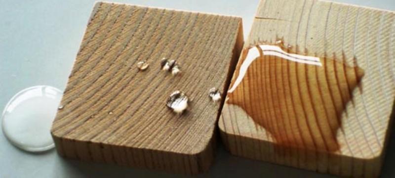 تأثیرات آب بر انواع مختلف چوب