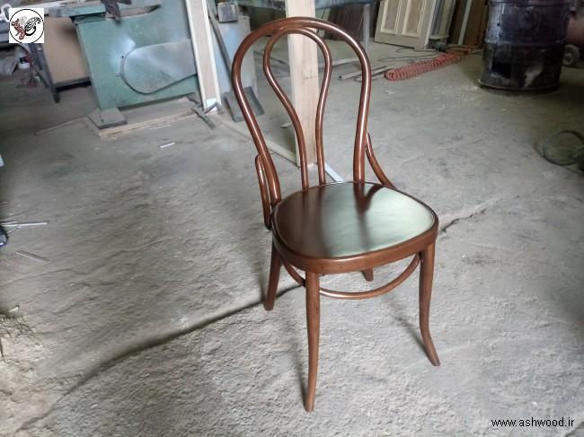 صندلی لهستانی چوب گردو