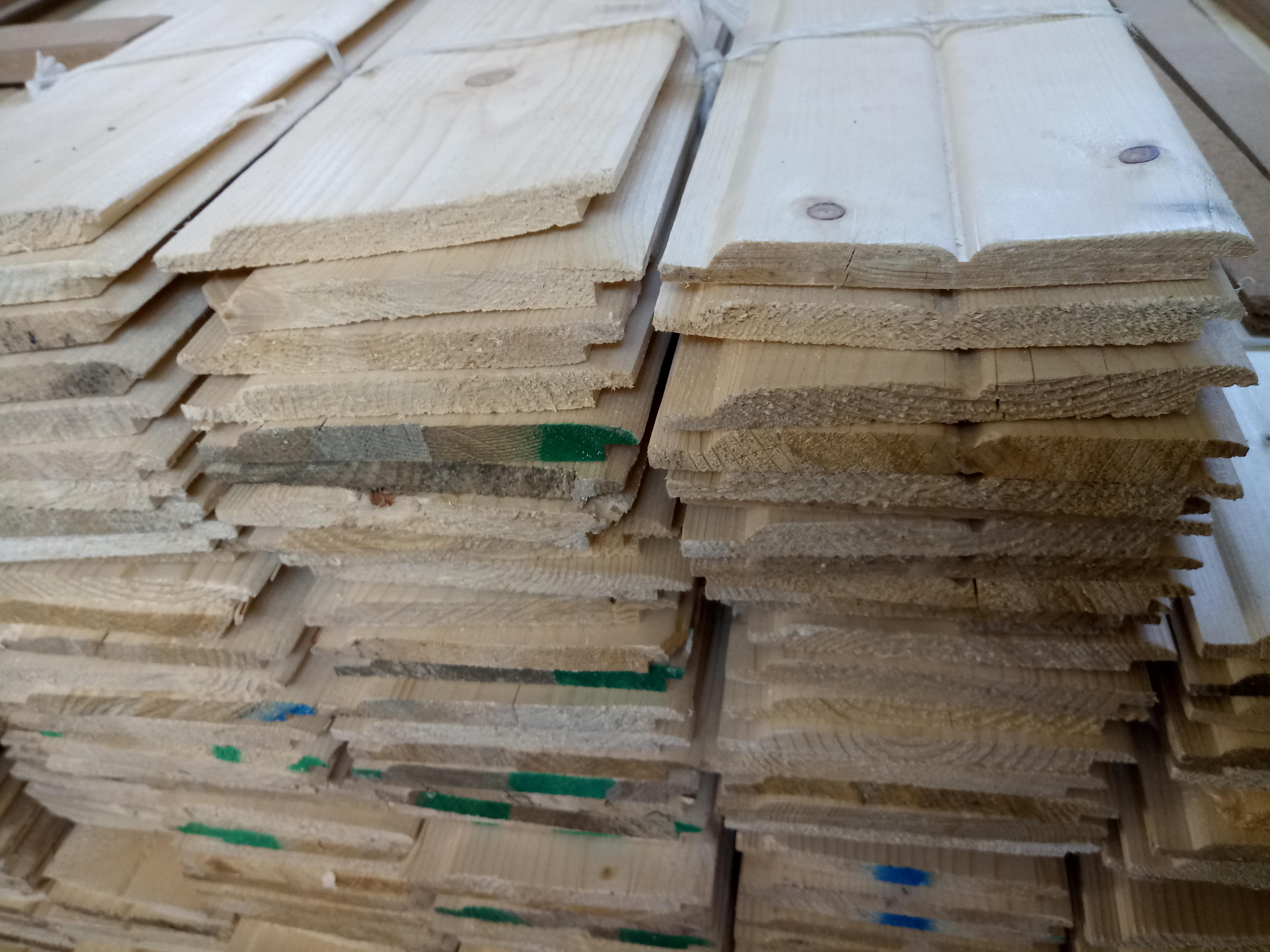 لمبه چوب روسی 10 سانت و 15 سانت , لمبه و روکوب و دیوارکوب , سقف کاذب چوبی