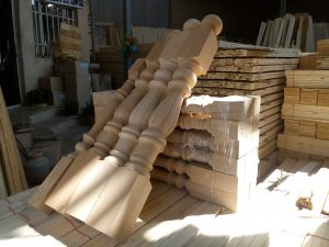 دکوراسیون چوبی , انواع چوب زیرسازی , چوب پله , نرده و هندریل , لمبه و چوب روسی و راش