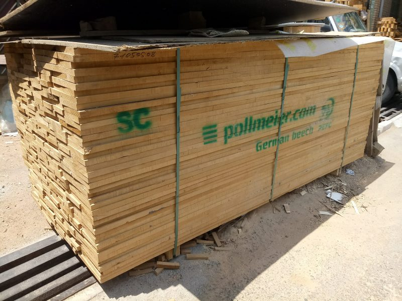 تخته چوب راش اروپایی از برند پل مایر المان