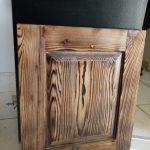 درب کابینت سبک روستیک , ستون و چوب سبک روستیک