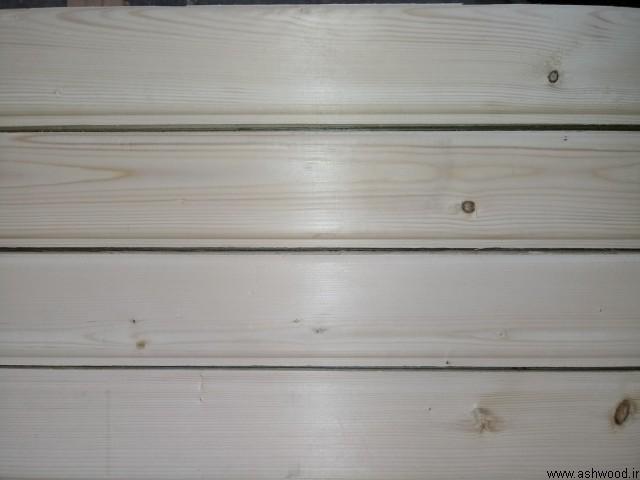 لمبه چوب کاج روسی دو شیار در ضخامت های 13 میل و 16 میل , چوب چهار تراش