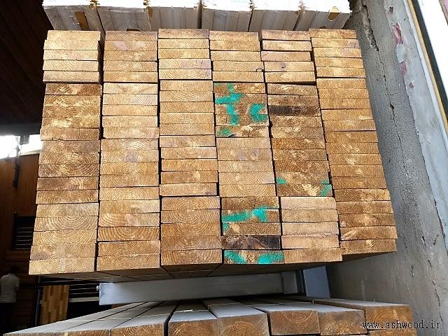 تخته چوب و الوار وارداتی ترمووود