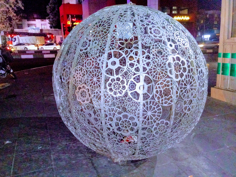 تهران ابتدای خیابان ولیعصر پل پارکوی