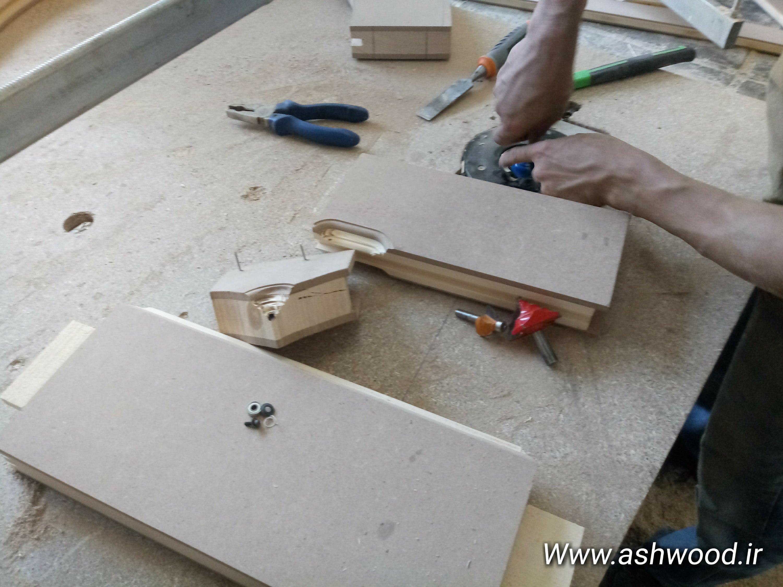 استفاده از چوب پرت و اضافی در ساخت ابزار نجاری و درودگری