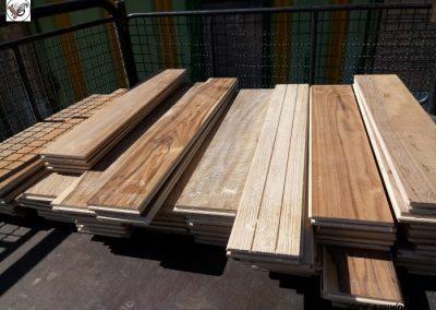 کفپوش چوب طبیعی چوب مهندسی