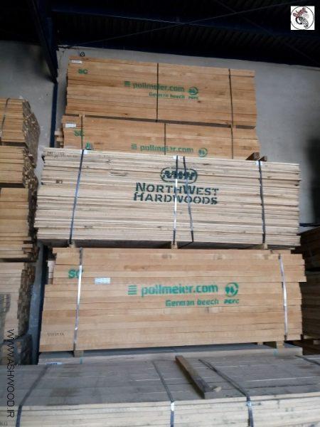 فروش انواع تخته و الوار چوب وارداتی , تخته زیرپایی , کفپوش , تخته راش پلمایر