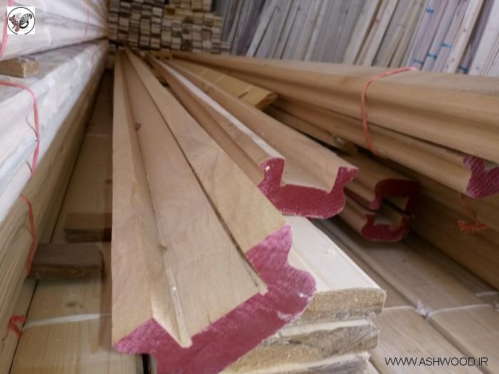 نرده و دست انداز ( هندریل ) چوب راش گرجستان