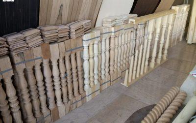فهرست بها قیمت پله چوبی , نرده , هندریل , صراحی