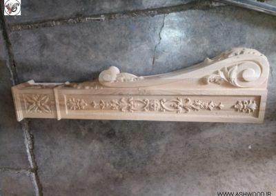 عکس نرده چوبی٬ هندریل پله٬ کف پله٬ ایستگاه پله