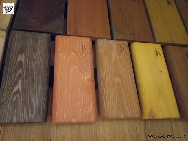 نمونه رنگ سبک روستیک , رنگ های مناسب برای سبک روستیک , رنک نمای بیرونی ساختمان , رنگ و سند بلاست چوب کاج , رنگ بلوطی