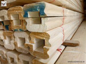 انواع چوب و لمبه کاج روسی