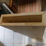 کف پله چوبی , کف پله چوب کاج , ساخت راه پله چوبی