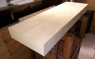 کف پله چوبی