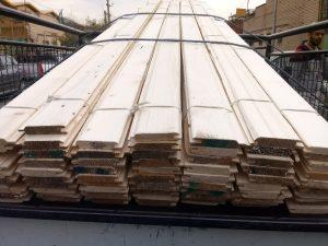 قیمت و لیست انواع لمبه چوبی از چوب کاج روسی