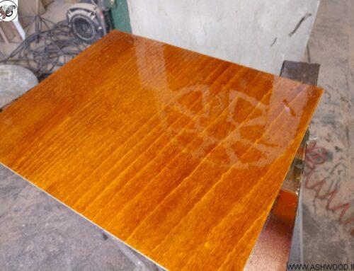 آموزش ساخت رنگ عسلی برای چوب