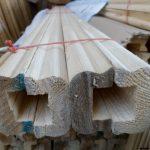 هندریل و دست انداز چوب کاج روسی , لمبه کاج روسی , دیوارکوب و زهوار چوبی