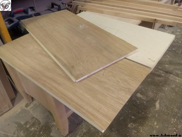 کف پله چوبی , روش ساخت کف پله چوبی , کف پله چوب گردو
