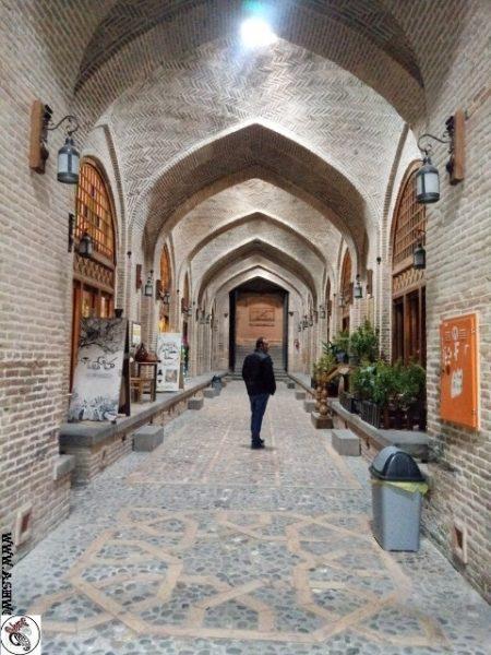 عکس کاروان سرای سعدالسلطنه , سفر به قزوین