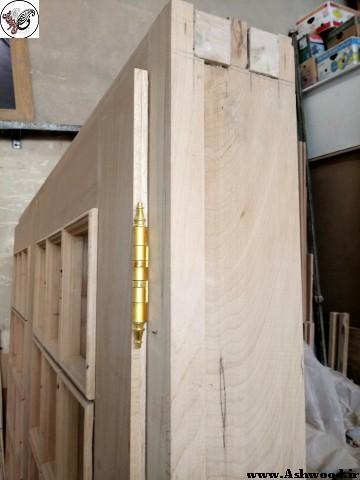 درب تمام چوب راش , ساخت در چوبی