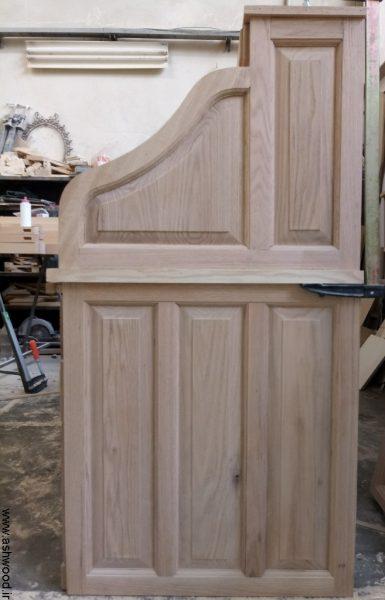 میز تحریر کلاسیک , نمونه کار دکوراسیون چوبی