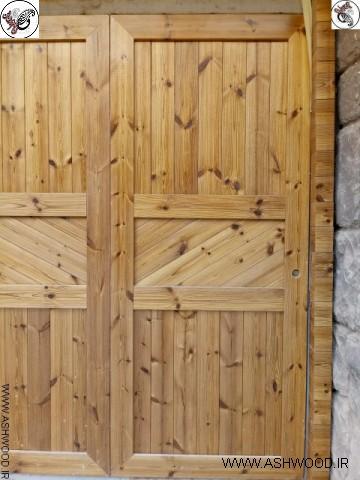 درب چوبی ترمووود