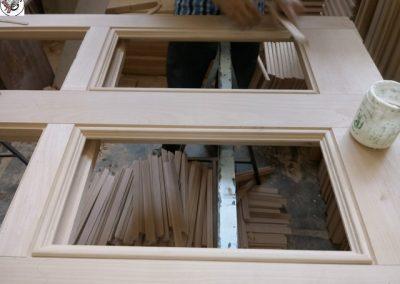 درب تمام چوب راش , ساخت درب تمام چوب راش , قیمت درب تمام چوب گردو , درب تمام چوب لابی