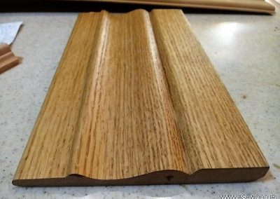 قرنیز چوب بلوط