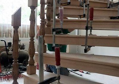 ساخت پله گرد چوبی , دکوراسیون چوبی , ایده های جالب پله
