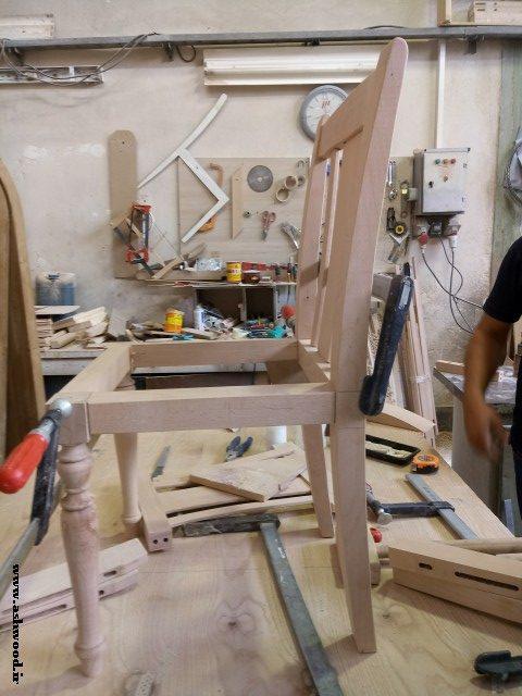 ساخت صندلی چوبی سفارشی