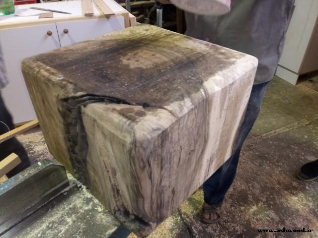 چوب گردو 40 * 40  سانت