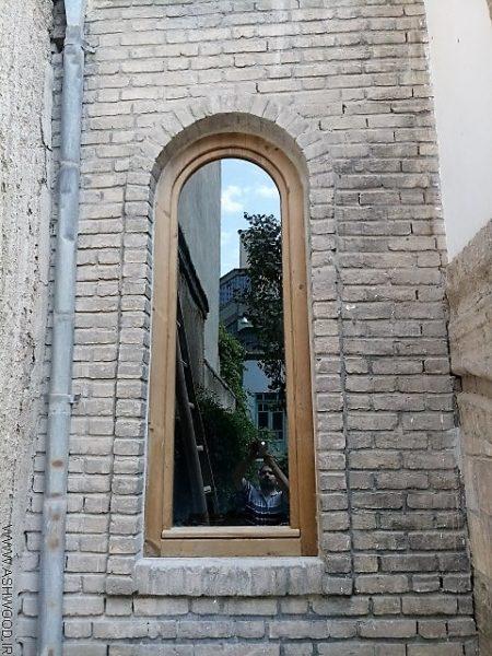 پنجره چوب ترمووود , درب و پنجره ترمووود