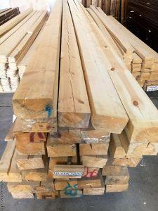 تراورس چوب کاج , مشخصات تراورس چوبی