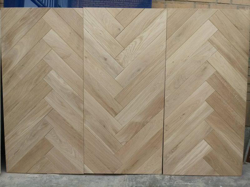 پانل چوب بلوط جناغی مناسب کفپوش و دیوارکوب چوبی