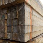 تخته و الوار چوب کاج روسی ابعاد 20*20 سانت به طول 600 سانت