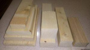 چوب چهار تراش در انواع ابعاد و قیمت