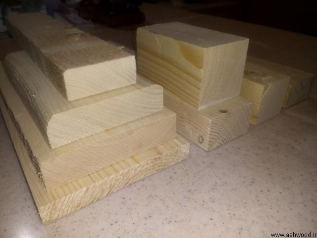 چهار تراش و ابعاد انواع چوب در صنایع چوب